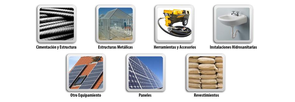 Comercialización de materiales para la construcción.